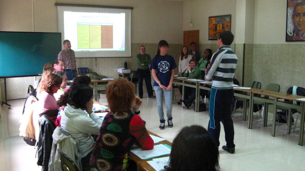 Formación mediadores escolares teatralización