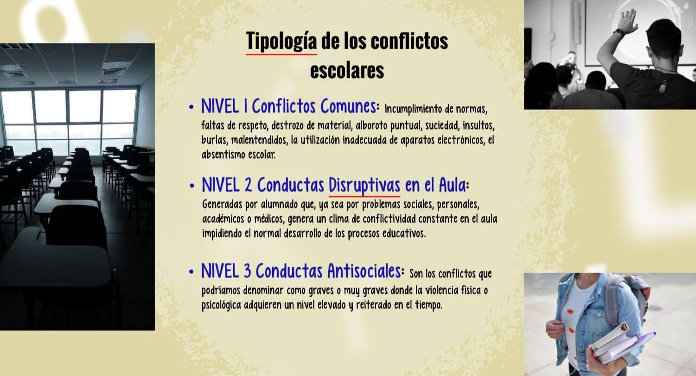 Ejemplos de conflictos escolares